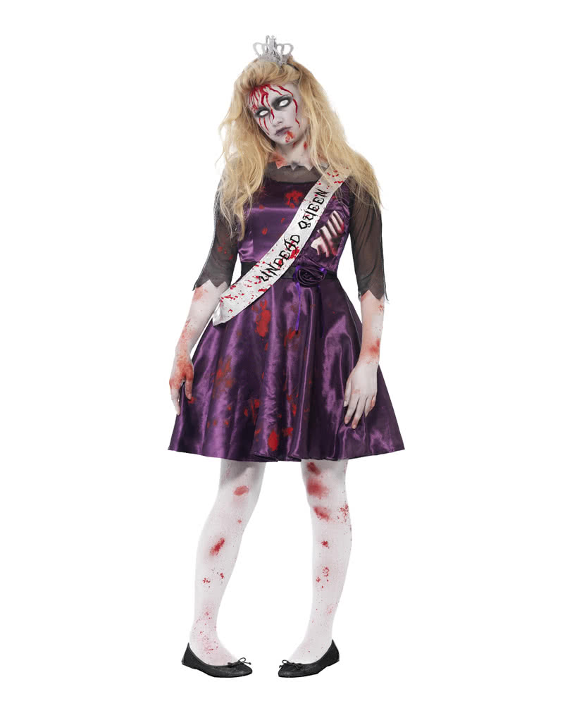 zombie prom queen bloody halloween costume horror. Black Bedroom Furniture Sets. Home Design Ideas