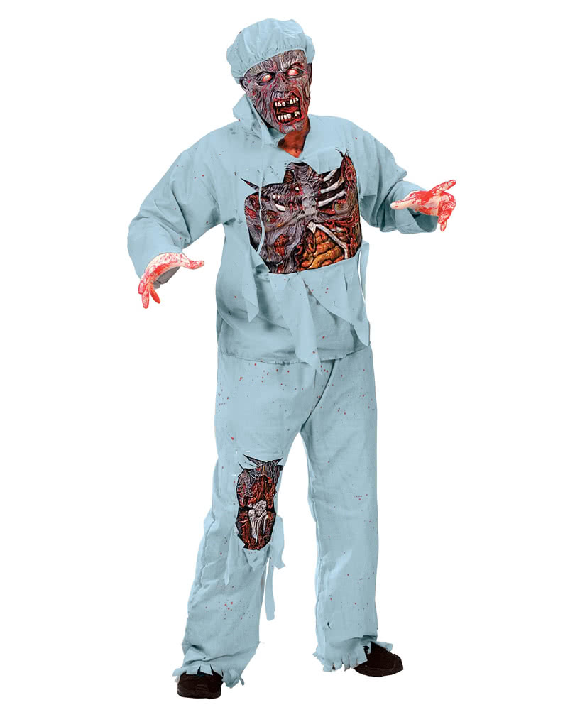 zombie doktor 3d deluxe kost m f r den zombie walk horror. Black Bedroom Furniture Sets. Home Design Ideas