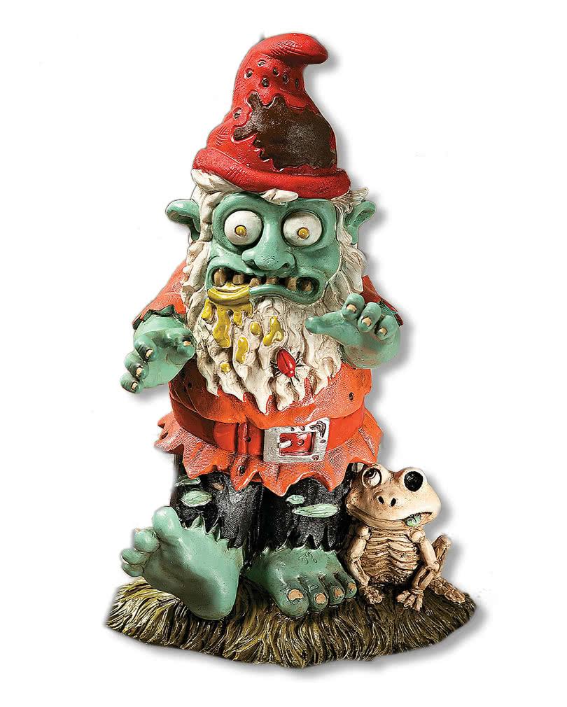 Zombie gartenzwerg zombie gnom als halloween deko horror - Halloween deko garten ...