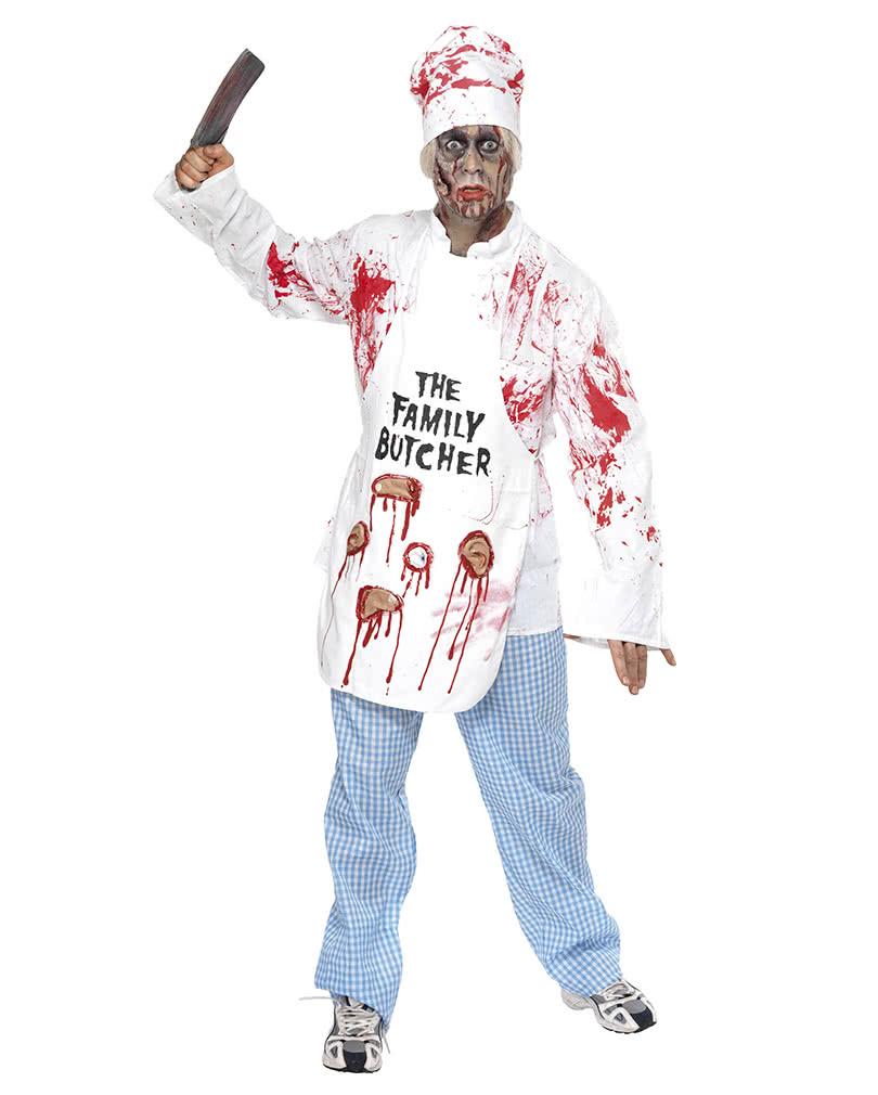 blutiger zombie koch kost m horror koch kost m f r den zombie walk horror. Black Bedroom Furniture Sets. Home Design Ideas
