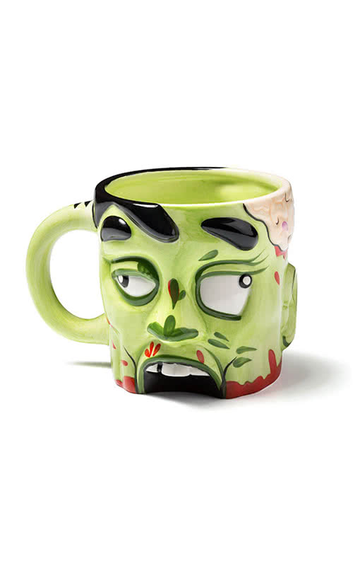 zombie kopf tasse becher mit horror gesicht horror. Black Bedroom Furniture Sets. Home Design Ideas