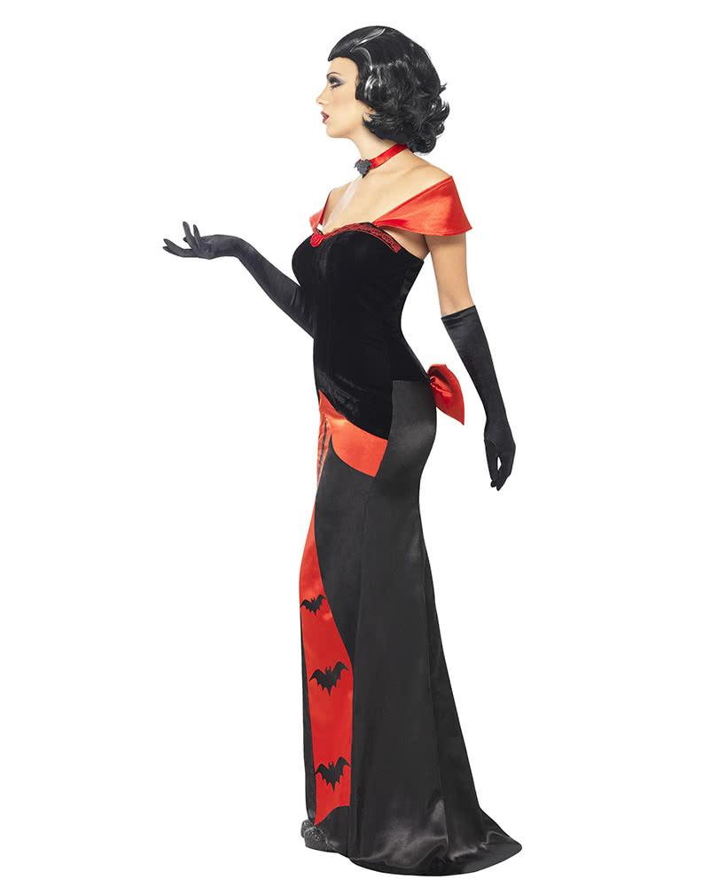 glamour vampiress kost m vampirin kost m wie ein langes. Black Bedroom Furniture Sets. Home Design Ideas
