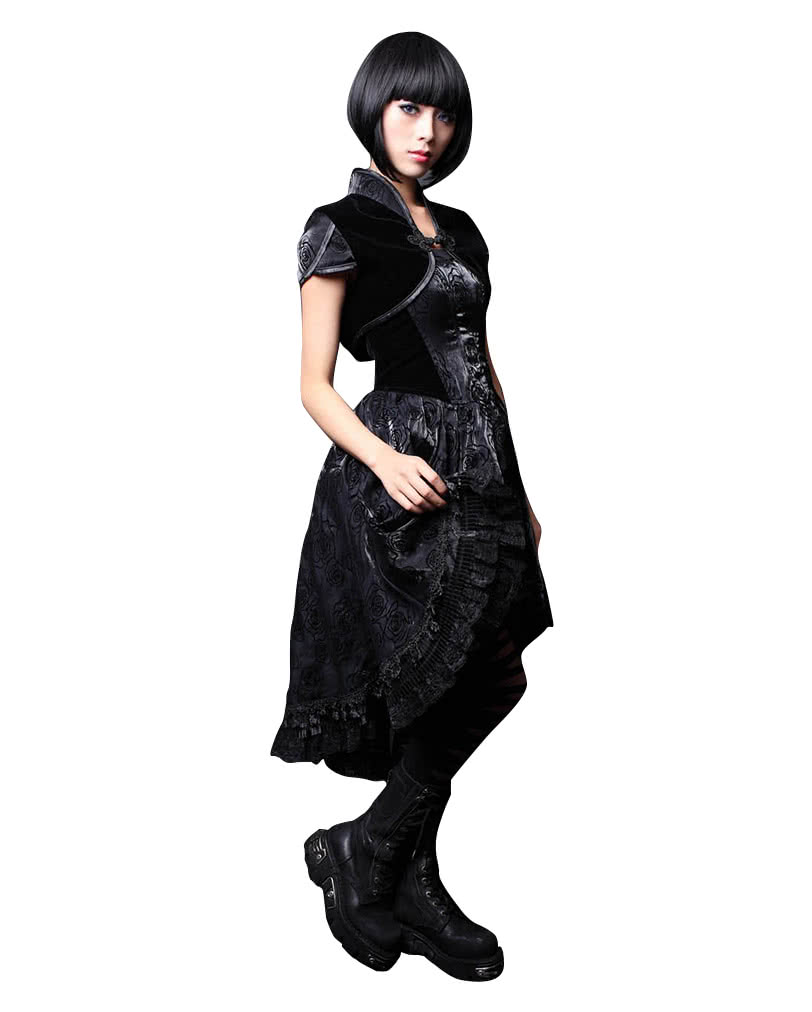 gothic lolita kleid mit bolero gothic kleid horror. Black Bedroom Furniture Sets. Home Design Ideas