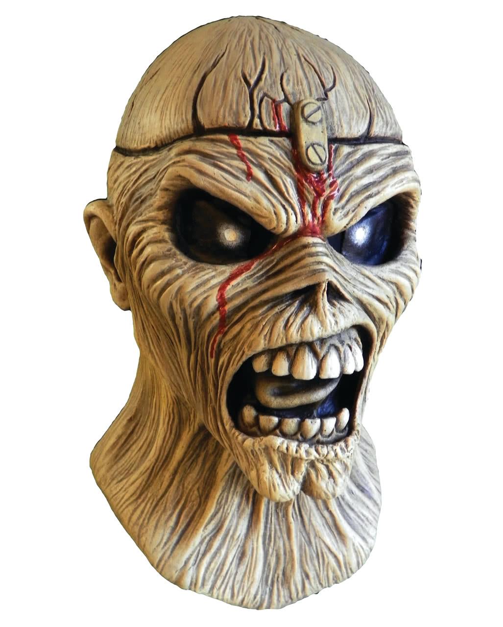 iron maiden piece of mind maske heavy metal horrormaske. Black Bedroom Furniture Sets. Home Design Ideas