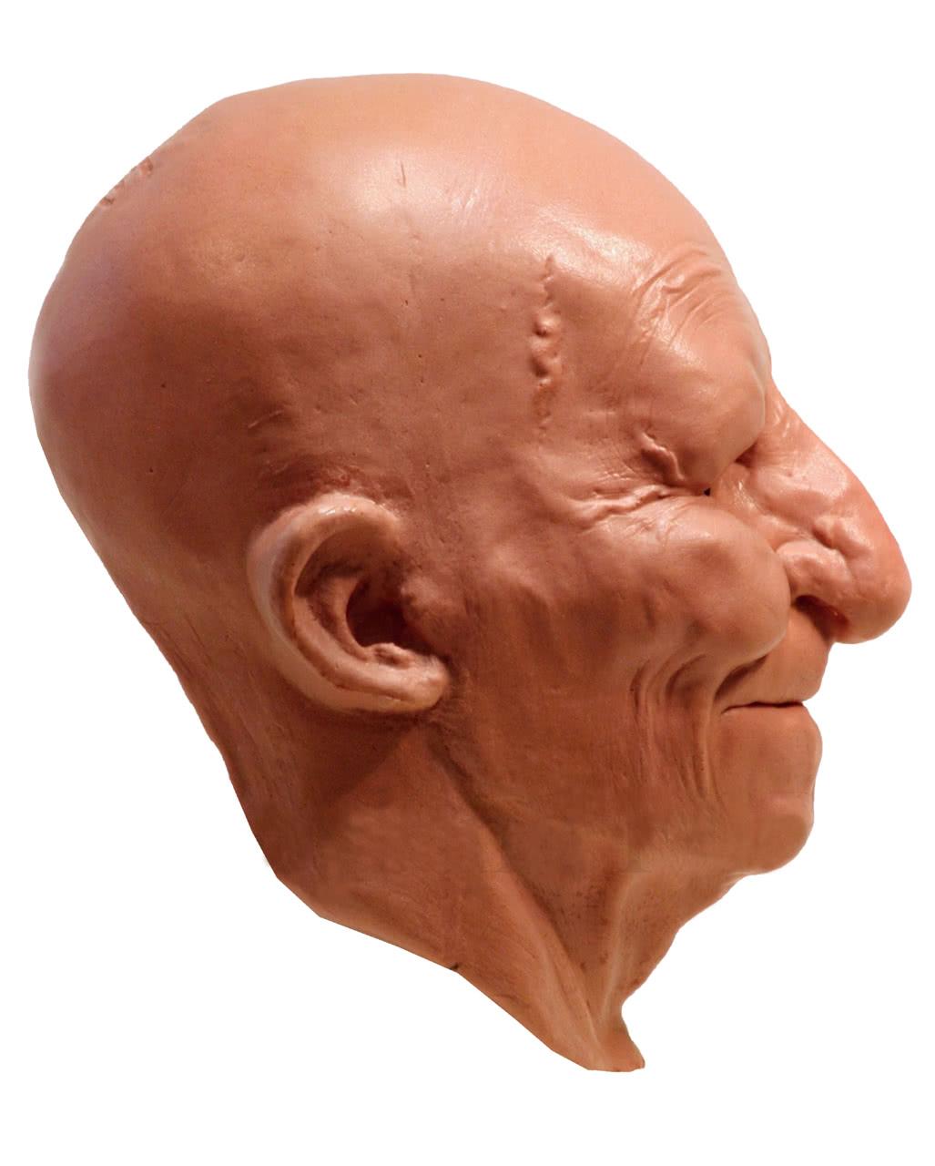 opa maske aus schaumlatex gro vater maske alter mann opi horror. Black Bedroom Furniture Sets. Home Design Ideas