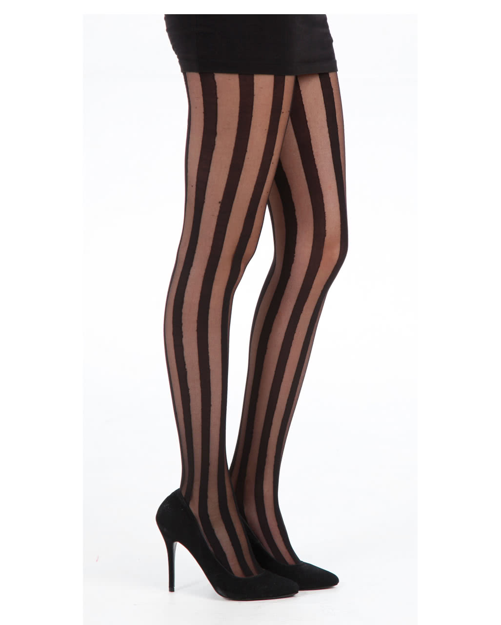 In Pantyhose With Stripes 105
