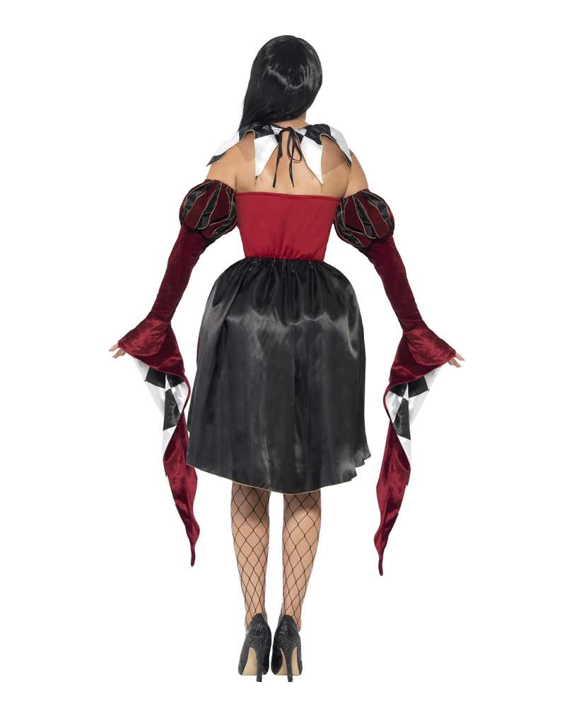 venezianischer harlekin damenkost m schalk kost m f r frauen horror. Black Bedroom Furniture Sets. Home Design Ideas
