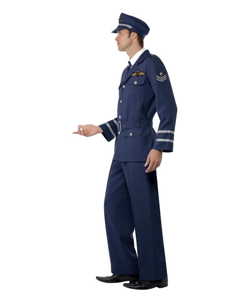 40s airforce soldaten kost m ww2 captain uniform als. Black Bedroom Furniture Sets. Home Design Ideas