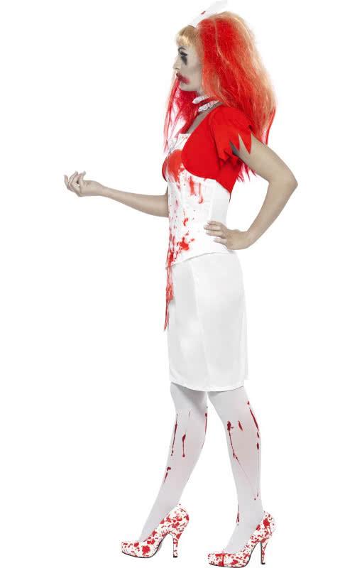 blutige horror krankenschwester sexy zombie krankenschwester f r halloween horror. Black Bedroom Furniture Sets. Home Design Ideas