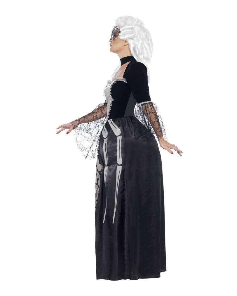 schwarze witwe baronin kost m spinnen verkleidung f r. Black Bedroom Furniture Sets. Home Design Ideas