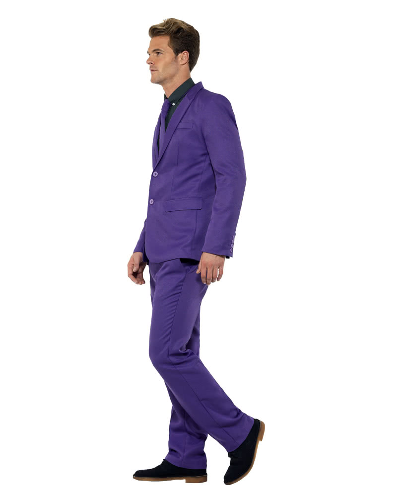 herren anzug violett lila herrenrobe f r mottoparties. Black Bedroom Furniture Sets. Home Design Ideas