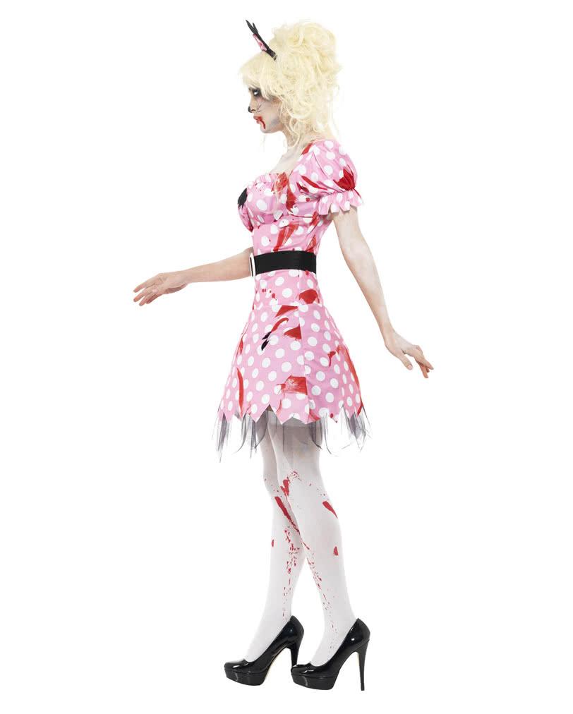 zombie maus kost m 50er jahre zombie girl kost m horror. Black Bedroom Furniture Sets. Home Design Ideas