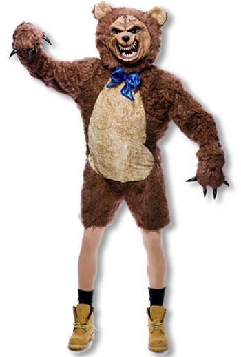 Zombie Teddybär Kostüm | Gruseliges Teddybär Kostüm für